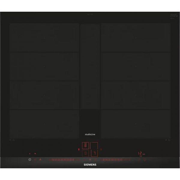 SIEMENS iQ700 induction hob Black